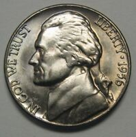 1956-D Jefferson Nickel Nice Choice Uncirculated Coin DUTCH AUCTION