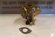 RECO STROMBERG CARB BXU-3 GOLD FINISH  SUIT HOLDEN HJ 202 MANUAL BIG BASE  75mm