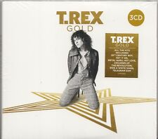 T.Rex Marc Bolan - Gold, 45 Best Of Tracks, 3CD New