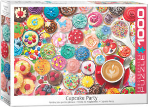 Cupcake Party 1000 Piece Puzzle by Eurographics