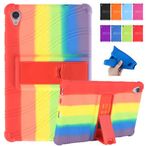 Stand Case Cover For Lenovo Tab M8 HD TB-8505 M8 FHD TB-8705 Shockproof Silicone