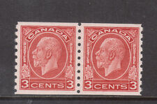 Canada #207 Extra Fine Never Hinged Coil Pair