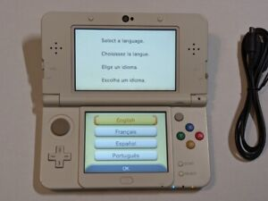 Nintendo New 3DS - White Edition Handheld Console
