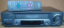VHS Videorecorder SHARP VC-Q701, Fernbedienung,BA,Videorekorder VC-MH711,VC-MH68