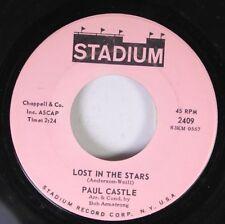 Pop Teen Rare 45 Paul Castle - Lost In The Stars / Same On Stadium