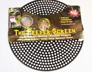 Feeder Screen for Deer Game Feeder 55 Gallon Metal Barrel Drum -Keeps Corn Clean