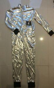 ASTRONAUT SPACE MAN SPACESUIT KIDS FANCY DRESS COSTUME UNISEX LARGE 134-148CM 🚀