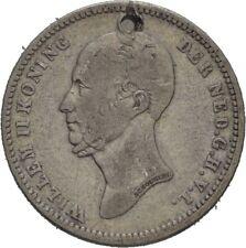 Niederlande 25 Cent 1848 3,5 g  #IAS80