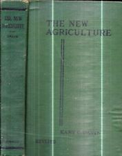 1933 NEW AGRICULTURE FRUIT VEGETABLES HORTICULTURE WITH 345 ILLUSTRATIONS