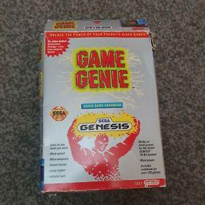 Sega Mega Drive Genesis Rare Boxed  Game Genie
