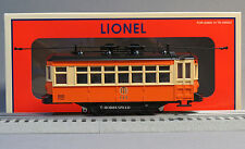LIONEL LIGHTED JOHNSTOWN PA BIRNEY TROLLEY #117 illuminated car rail 6-83426 NEW