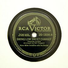 """GLENN MILLER ORCHESTRA """"Swing Low Sweet Chariot"""" (EE+) RCA VICTOR 20-1834 [78]"""
