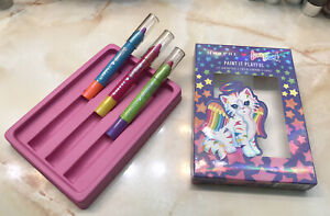 Morphe X Lisa Frank ~ Lip Crayon Trio in Paint it Playful ~ BNIB