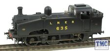 R3324 Hornby OO Gauge LNER T 635 J50 Class LNER Real Coal & TMC Weathered