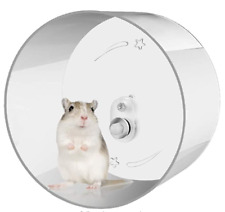 "Hamster Exercise Wheel - Wall-Mounted Silent Running by Zacro - 8.7""x3.75"" -Open"