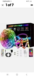 LED Strip Lights Smart KIKO Music Sync Color Changing Rope Lights 21.3 ft