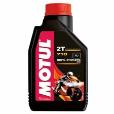 1 LITER OIL MOTUL 710 2 T TIMES SYNTHETIC MOTORRAD MIX FOR FUEL
