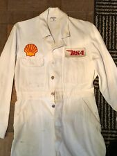 Vintage Motorcycle Bsa Overall