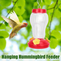 -Hummingbird Feeder Garden Collection Plastic Hanging 6.75 Inches Tall