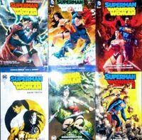 Superman/Wonder Woman NEW 52 TPB Bundle volumes 1-5 & WW volume 9 tie in