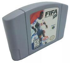 FIFA 98 Road To World Cup 64 - Nintendo N64 Game Authentic - Cleaned & Tested