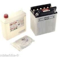 Batterie Quad Avec Entretien YB14A-A2 + acide Polaris SCRAMBLER SPORTSMAN 500