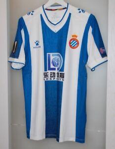 Match worn shirt Espanyol Barcelona Spain Wu Lei China national team