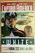 CAPTAIN AMERICA #4 White (2015 MARVEL Comics) ~ NM Comic Book