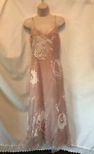 $6000+ Christian Dior Boutique Pink Full Length Long Evening Dress Sz 6
