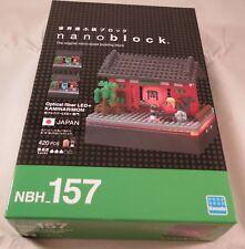 Kawada Nanoblock Optical fiber LED + KAMINARIMON - japan building toy NBH_157
