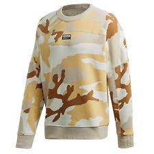 Adidas Originals r.y.v. camo Crew sudadera ed8794 camuflaje marrón beige