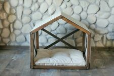 Dog House Cat House Indoor Solid Wood Dog Bed Cat Bed Dog Crate Furniture