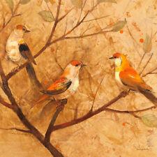Reproduction Modernism Birds Art
