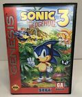Sonic the Hedgehog 3 Sega Genesis Complete CIB Authentic Good Condition Tested