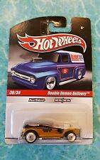 Hot Wheels 2010 Slick Rides Delivery Kendall Oil Double Demon Delivery w/RRs