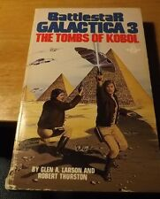 Vintage 1980 Berkley Paperback Battlestar Galactica #3 The Tombs of Kobol 215pp