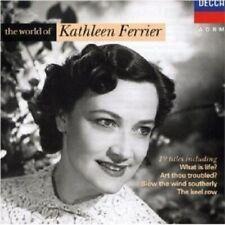 KATHLEEN FERRIER - THE WORLD OF KATHLEEN FERRIER  CD NEW+