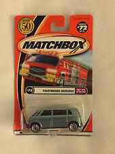 VOLKSWAGEN MICROBUS - 2001 Matchbox Die Cast Car - Mint on Card
