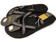 Teva Womens Sandals Olowahu Felicitas Black Size 9