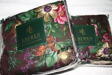 Ralph Lauren BRITTANY FLORAL Queen DUVET COVER, Std Shams & BEDSKIRT 4 PC