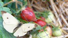 Anti Butterfly Plant Protection Netting 4 x 25m Crop Garden Bird Mesh Allotment