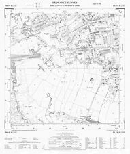 """Pudsey (southwest), Yorkshire 1956 - OS 25"""" scale - old map, new reprint"""