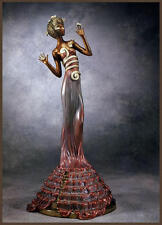 "Erte (Romain de Tirtoff) ""Fantasia Bronze Sculpture"" Sculptures MAKE OFFER"