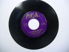 MAJOR LANCE Crying In The Rain/Hey Little Girl 45 RPM Okeh Records