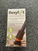 Flexyfoot Ferrule Walking Stick Attachment - Size 22 - Grey. BNIB