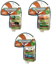 2020 MICRO MACHINES Christmas CANDY CANE Set OF 3 (2-Packs) 6 Total Cars Limited