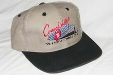 Vintage 1990s Consolidated Pipe & Supply Company, Inc Trucker Strapback Hat Cap