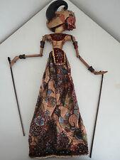 Superbe Marionnette Indonésienne/Java, en Bois - Wayang Golek - JB185