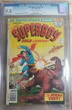 1977 DC Super-Stars Giant 12 CGC 9.8 Superboy Solo Cover RARE!