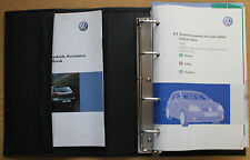 VW GOLF V GT R32 BLUEMOTION Manuale Proprietari Manuale Wallet 2003-2008 Pack 12842